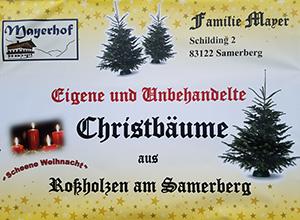 Christbaumverkauf Mayer