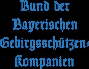 Bund der Bayerischen Gebirgsschützen-Kompanien