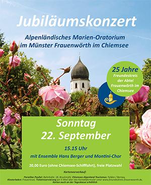 Jubiläumskonzert Hans Berger Fraueninsel