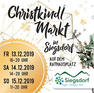 Christkindlmarkt Siegsdorf