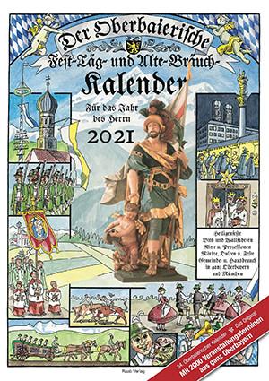 Der Oberbaierische  Fest-Täg- und Alte-Bräuch-Kalender