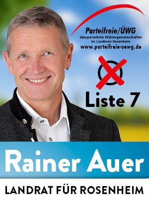 Dieter Kannengießer, Parteifreie für Rainer Auer