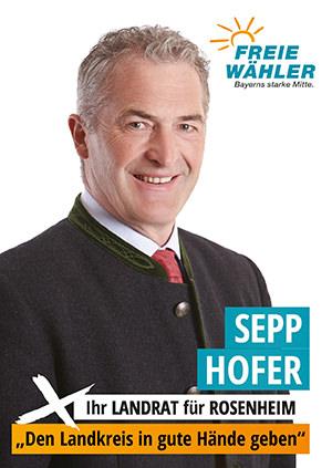 Landratskandidat Sepp Hofer