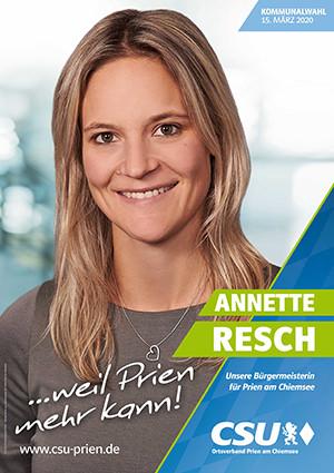 CSU Prien Annette Resch