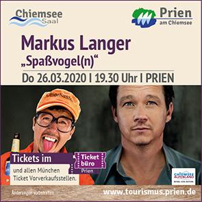 Tourismus Prien - Kabarett Markus Langer