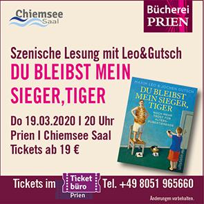Bücherei Prien Lesung Leo & Gutsch