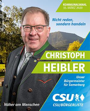 Christoph Heibler CSU Samerberg