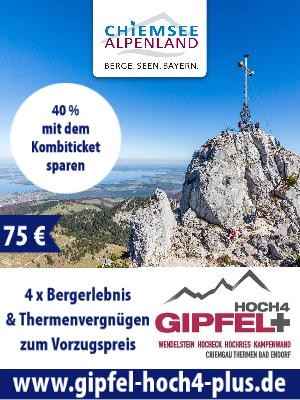 Gipfel hoch 4 Chiemgau-Alpenland